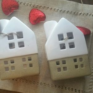 Set ceramic house